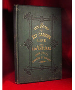 The Story of Kit Carson's Life and Adventures From Facts SALESMAN'S SAMP... - $441.00