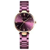Mini Focus Women's Steel Wrist Watch MF0265L (Purple) - $35.10