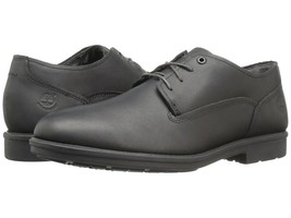 Mens Timberland Carter Notch Waterproof Oxford Black Leather Dress Shoes... - $89.59