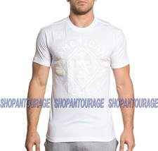 AMERICAN FIGHTER Massachusetts FM5681 Men`s White T-shirt By Affliction - $32.95