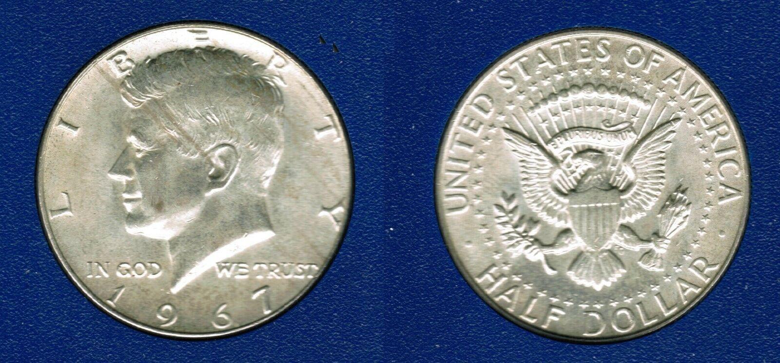 1967 Kennedy Half Dollar CP2004