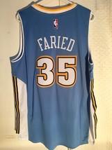 Adidas Swingman 2015-16 NBA Jersey Denver Nuggets Kenneth Faried Light Blue 2X - $14.84