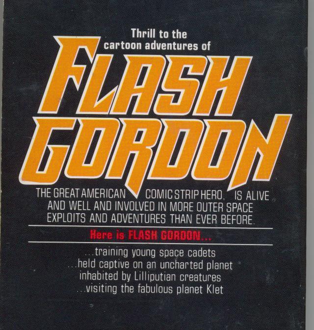 AMAZING ADVENTURES OF FLASH GORDON - 1980 -  comics reprints