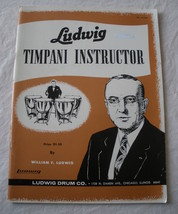 Timpani Instructor - Ludwig - Percussion Method - $5.35