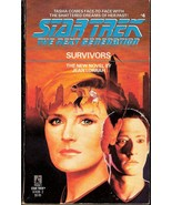 Survivors Star Trek The Next Generation No 4 by Jean Lorrah - $3.49