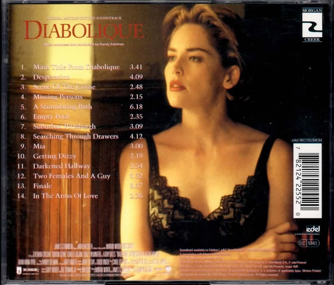 DIABOLIQUE SOUNDTRACK RANDY EDELMAN CD RARE