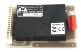 POLYTRON DEVICES MODEL: P33 600 REGULATED POWER SUPPLY 748-7300103 BOARD