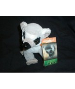 Ring Tailed Lemur Animal Planet plush with real sounds - $14.95