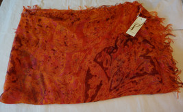 Womens Scarf Large Multicolored Acrylic Collectioneighteen New $38 - $14.99