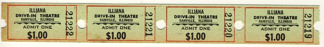 Illiana drive in tickets 4