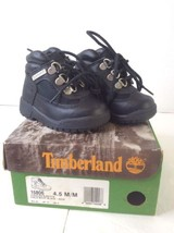 Timberland 15806 Black Toddler Baby Field Boots Shoes Leather Waterproof... - $60.79 CAD
