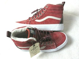 Vans Womens Sk8-Hi MTE All Weather Boots Hot Sauce Port Royale Suede Size 7 NWT - $78.39
