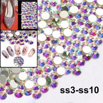 Flatback Crystal and Rhinestones For Nail Art Decoration Shoes And Dress... - $5.14