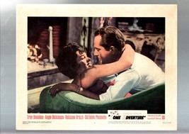 ROME ADVENTURE-1962-LOBBY CARD #8-ANGIE DICKINSON-ROMANCE FN - $17.46