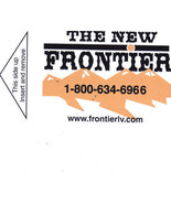 THE NEW FRONTIER Las Vegas Collectible Room Key - $2.95
