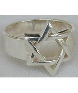Star of David ring A - $18.00