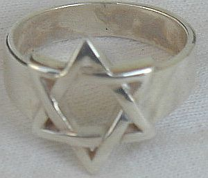 Star of David ring A