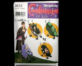 Simplicity 3612 Toddlers Costumes and Stroller Decorations - $11.95