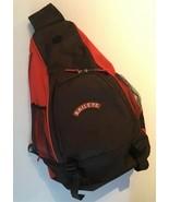 Baileys Irish Cream Sling Back Bag Backpack Zippered Orange & Brown Book... - $19.99