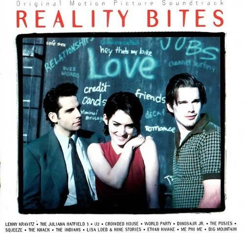 REALITY BITES SOUNDTRACK VARIOUS CD  RARE