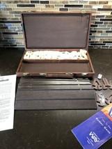 Vintage Rummy-O 1980 Pressman Tournament Rummikub with Carrying Case - $29.69
