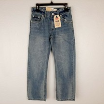 Levi's 505 Regular Boys Jeans Size 24x22 Blue Denim SY8  - $19.79