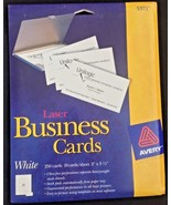 Avery White Laser Business Cards - $9.89