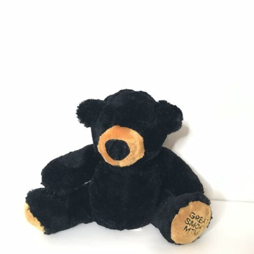 "Primary image for Wishpets Black Bear Plush Beanie Great Smoky Mtns 10"" Tall Sitting"