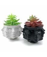 Multi Face Succulent Planter Vase Modern Nordic Succulent Cactus Flower Pot - $46.49