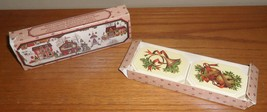 Vintage Avon COUNTRY CHRISTMAS 2 Decal SOAPS in Original BOX-soap has da... - $5.00