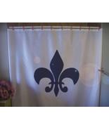 Shower Curtain fleur de lis lily heraldry France Quebec - $64.99