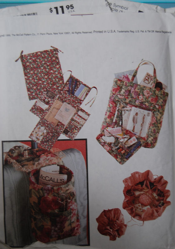 Pattern 2452 Sewing Accessories