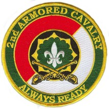 US Army 2nd armoned Cavalry  Division Vietnam Veteran Patch - $9.89