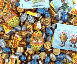 Mr. Goodbar, Kisses, Reese's Eggs, Hershey's Eggs, M&M's Candy Party Pac... - $23.27