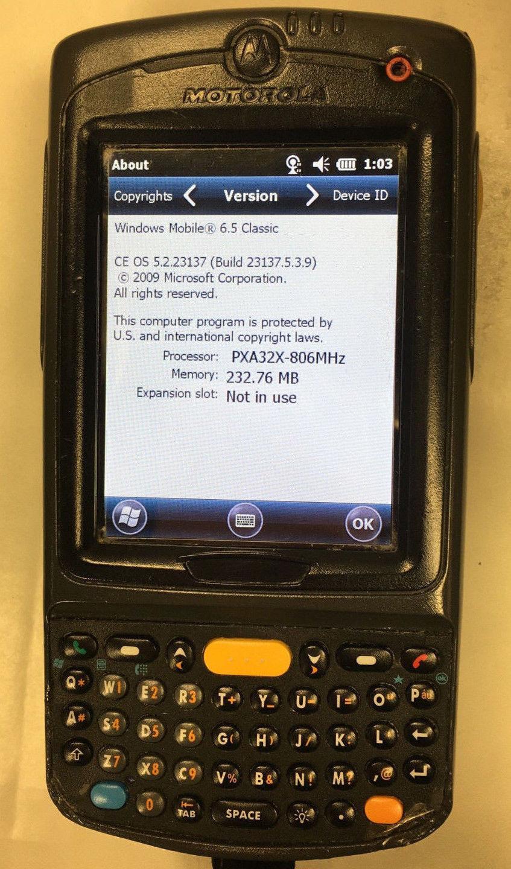 Motorola Symbol Pocket PC Barcode Scanner and 36 similar items