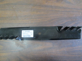 """302-818, Stens, Silver Streak Hi-Lift Toothed Blade, 18"""" Long, 3"""" Wide - $4.99"""