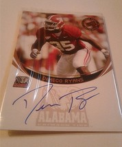 Demeco Ryans 2006 Press Pass Rookie Autograph Card Alabama Philadelphia Eagles - $7.92