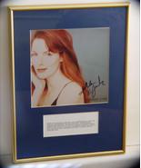 "Framed Autographed 8 x 10 Kathleen ""Bird"" York - $7.99"