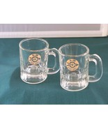 Two A & W Root Beer Mini Mugs Bullseye Logo Good Condition  - $8.50