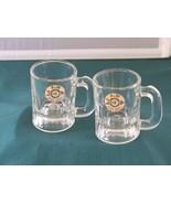 Two A & W Root Beer Mini Mugs Bullseye Logo Good Condition  - $8.50