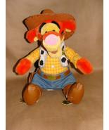 """Disney 12"""" TIGGER WOODY TOY STORY COWBOY WINNIE THE POOH PLU - $19.99"""