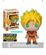 Dragon Ball Z- Super Saiyan Goku Glow in Dark Exclusive #14 Funko Pop!  - $19.79