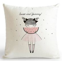 Pink Cushion Decoration Sweet Yummyl Pillow Case - £6.12 GBP