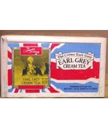 Earl Grey Cream Tea, 25 Tea Bags Sealed in a Wooden Box for Freshness - $11.50