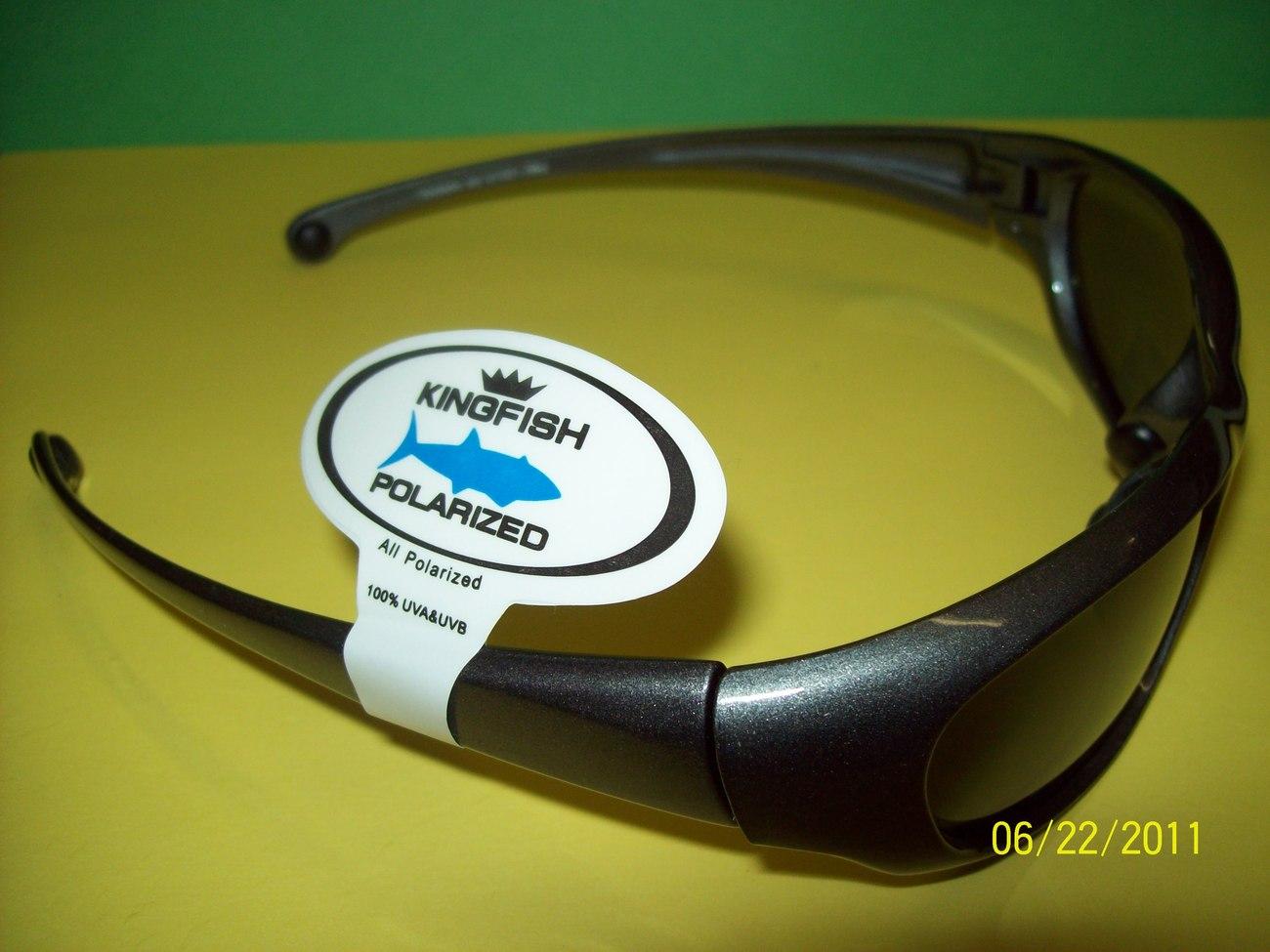 Kingfish Polarized Sunglasses Floatable Frame