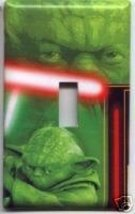 Sgle Light Switch Plate Cover Star Wars Image #9 Yoda - $6.75