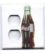 Coca-Cola Outlet/Single Combo Light Switch Plate Cover - $8.75