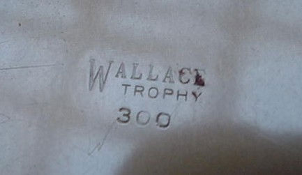 Wallace Trophy Bar Fond Recollections Drink Recipe Tray