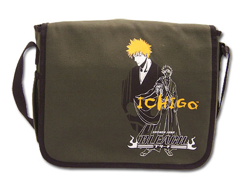 Bleach Ichigo Line Art and Portrait Messenger Bag GE5506 *NEW*