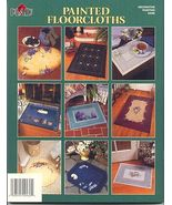 Painted Floorcloths Book~9 Stunning Projects - $8.00